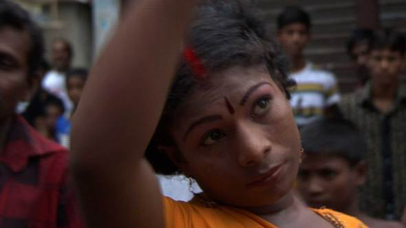 Salma lors du tournage de la démo